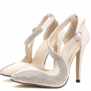 Fashion Rhinestone Sexy High Heel Single Dress Shoes for Sale in Fort Lauderdale, FL
