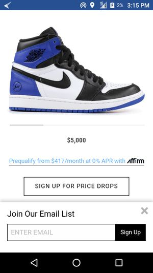 Fragment 1s Jordan reps for Sale in North Las Vegas, NV