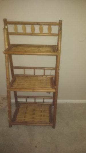 Bamboo shelf foldable for Sale in Oceanside, CA