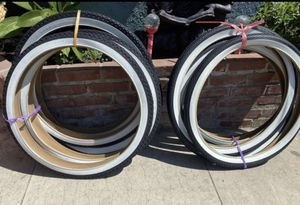 BRAND NEW BEACH CRUISER TIRES 26 INCH ALL SIZES for Sale in Riverside, CA