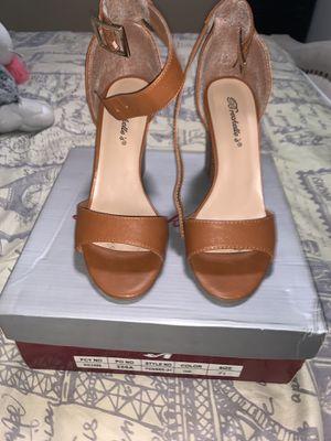 Women tan heels for Sale in Lakewood, CA