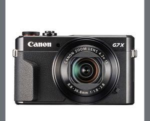Canon - PowerShot G7 X Mark II 20.1-Megapixel Digital Camera - Black for Sale in Triangle, VA