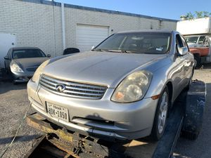2003-2006 INFINITI G35 SEDAN PARTS / PART OUT / PARTING OUT for Sale in Garland, TX