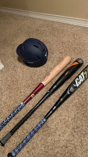 Baseball Bats & Helmet for Sale in Columbus, OH