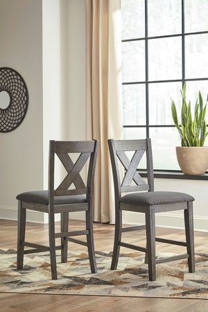 Ashley Furniture Counter Height Bar Stool, Grey Finish for Sale in Santa Ana, CA