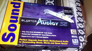 Creative Sound Blaster Audigy SE 7.1 for Sale in Lake Elsinore, CA