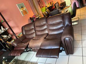 Sofá y reclinable el juego for Sale in Homestead, FL