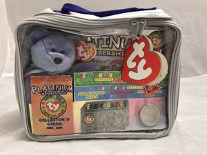 Official beanie baby club platinum membership kit for Sale in Vancouver, WA