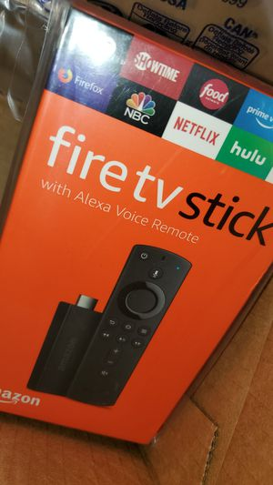 New Fire tv stick + programming for Sale in Moreno Valley, CA