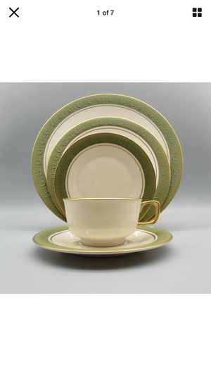 Fransican Masterpiece Vintage Antique Green set franciscan for Sale in Clinton, WA