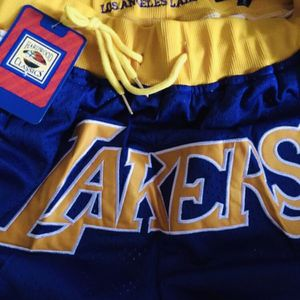 Brand new LA Lakers Jus' Don Mitch n Ness shorts for Sale in San Francisco, CA