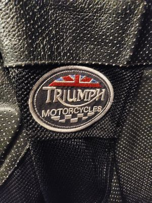 Size 2XL TRIUMPH PROTECTIVE RIDING JACKET for Sale in Bensalem, PA