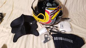 Ski Doo Bombardier snowmobile helmet XXXLG for Sale in Saint Joseph, MI