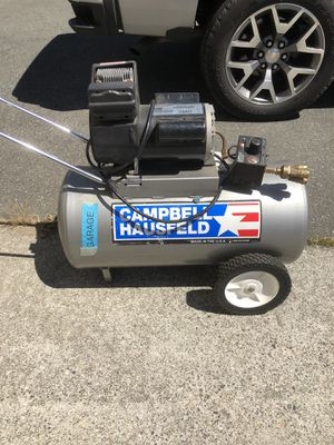 5hp air compressor for Sale in Seattle, WA
