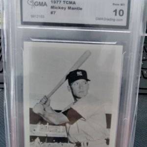 1977 Mickey Mantle TCMA Graded Card for Sale in Toms River, NJ