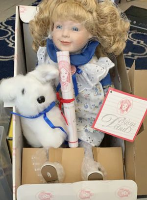 Design Debut Antique Doll with Certificate of Authenticity for Sale in Fresno, CA