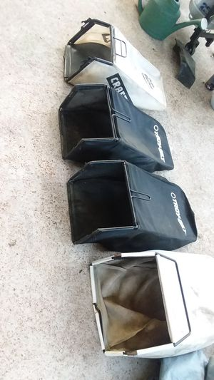 Selling lawn mower bag one is 30 for Sale in St. Louis, MO