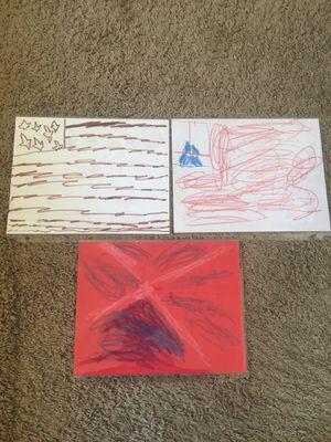 Hand drawn American flag artwork for Sale in Auburn, WA