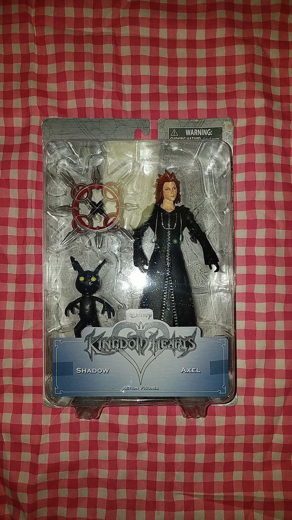 Kingdom hearts shadow axel action figures