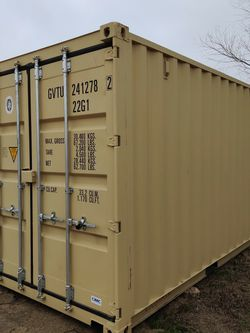 20ft New One Trip Beige Shipping Container For Sale for Sale in Dallas,  TX