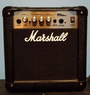 MARSHALL MG10CD PRACTICE SOLID STATE ELECTRIC GUITAR AMP for Sale in Germantown, MD