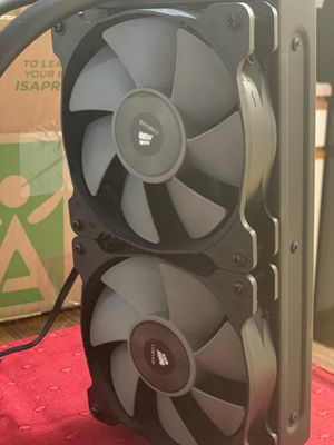 Corsair CPU liquid cooler for Sale in Arvada, CO