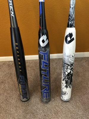 ASA Softball Bats Miken Demarini for Sale in Corona, CA