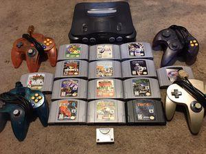 Nintendo 64 bundle for Sale in Lodi, CA