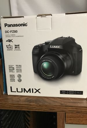 Panasonic LUMIX DC-FZ80 for Sale in Pottstown, PA