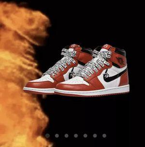 I Never Heard of you Jordan 1 CHI custom Sz 8 PRE Order confirmed for Sale in Miami, FL
