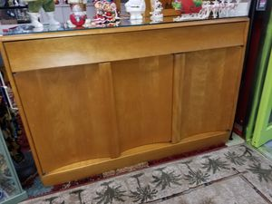 1950's MCM Heywood Wakefield Junior Buffet design by W. Joseph Carr for Sale in Gulfport, FL