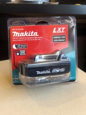 Makita 2.0Ah 18V Battery for Sale in San Diego, CA