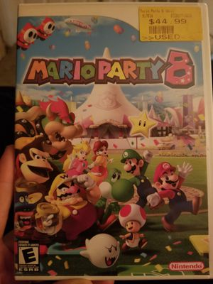 Mario party 8 Wii for Sale in Pinellas Park, FL