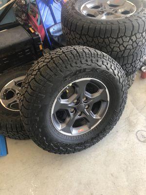 Jeep gladiator rubicon wheels JK, JKU for Sale in Hemet, CA