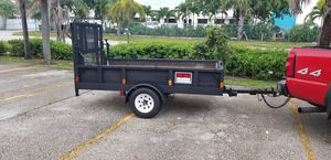 Utility Dump trailer with winched tailgate for Sale in Pompano Beach, FL
