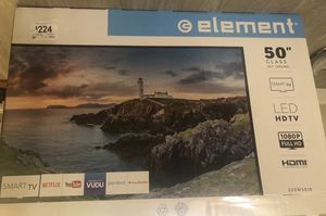 TV 50 Smart ELEMENT with TV stand for Sale in Philadelphia, PA