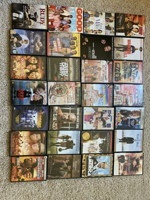 DVD movies and 3D blue ray DVD player for Sale in Union City, GA