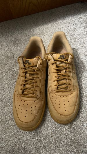 Nike Air Force 1 '07 WHEAT Size 9 for Sale in Traverse City, MI