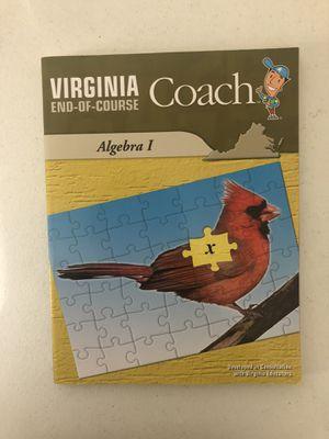 Best prep book for algebra for Sale in Herndon, VA