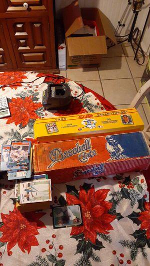 Vintage baseball card sets 1990 Score complete set and 1987 Donruss set for Sale in San Antonio, TX