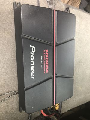 Pioneer 1000w amp for Sale in Silver Spring, MD