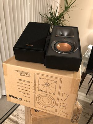 Klipsch R41SA dolby atmos speakers for Sale in San Dimas, CA