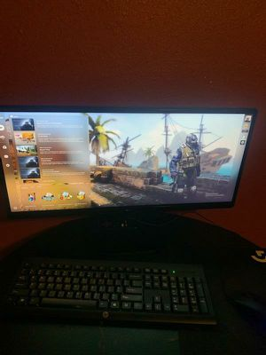 22 inch gaming monitor ultra wide for Sale in Houston, TX