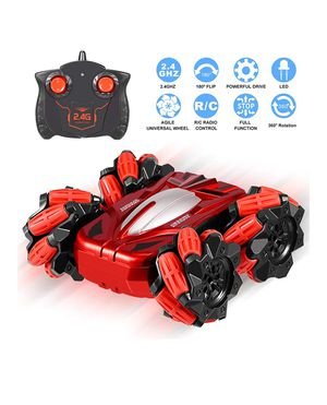 RC Cars Toys for 4-8 Year Old Boys, High Speed 2.4Ghz Remote Control Car 4WD Double Sided Driving 360° Rotating &180° Flipping, for Sale in Orange, CA