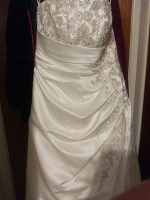 David's bridal wedding dress size 14 for Sale in Portland, OR
