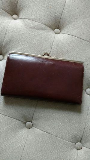 Genuine dark brown leather wallet for Sale in Nashville, TN