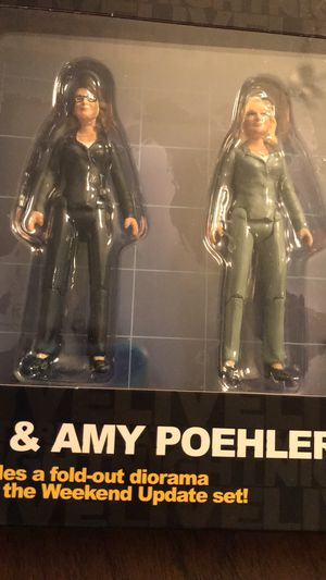 Tina Fey and Amy Poehler SNL Action Figures for Sale in Orlando, FL