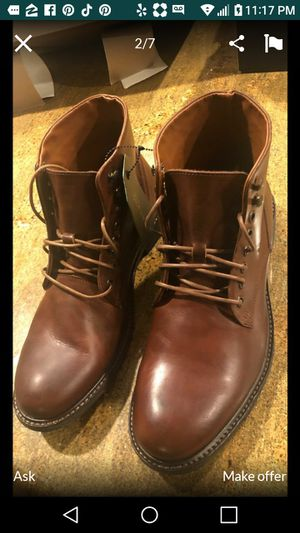 New Leather Mens Boots for Sale in Chino Hills, CA