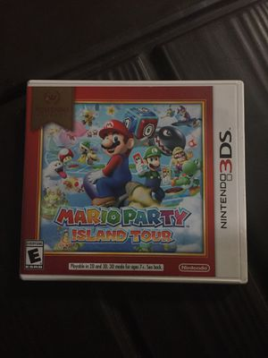 Mario Party Island Tour 3ds for Sale in Beaumont, CA