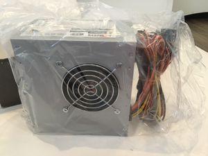 Logisys 480W Power Supply Dual Fans 4 SATAs W PC for Sale in Horseshoe Beach, FL